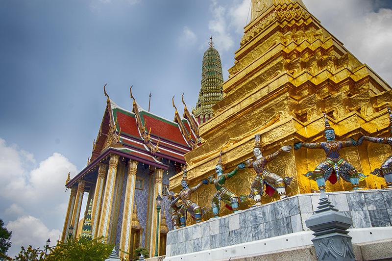 Bangkok  escala de Crucero